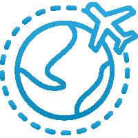 ícone Autorização de Viagem Internacional